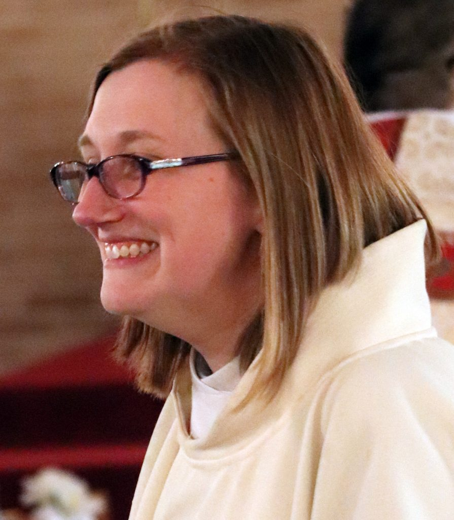 Pastor Sarah Schaaf, St. Paul's Lutheran Church.
