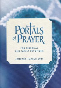 Portals of Prayer January through March 2021